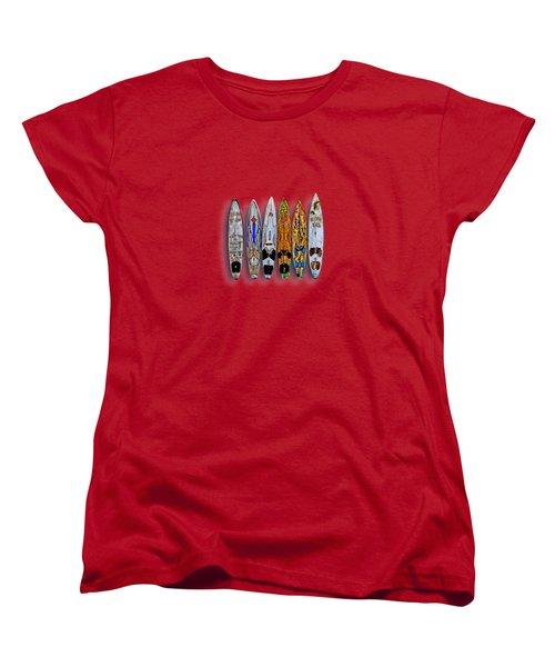 Women's T-Shirt (Standard Cut) featuring the photograph Aloha Y'all by DJ Florek