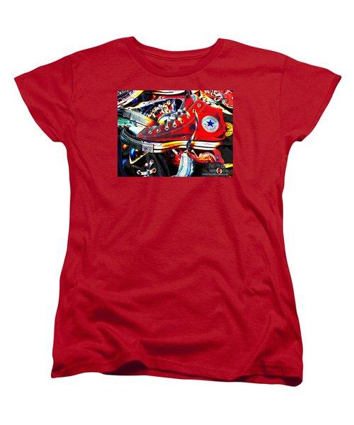 Alte Convieh Gathering Women's T-Shirt (Standard Cut) by Don Pedro De Gracia