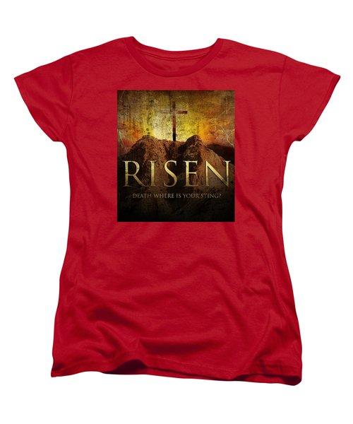 Always Risen Women's T-Shirt (Standard Cut) by David Norman