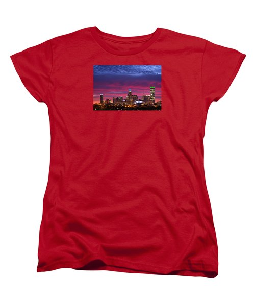 Amazing Colors Of Charlotte Women's T-Shirt (Standard Cut) by Serge Skiba