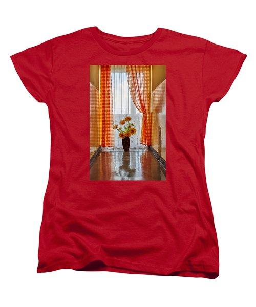 Amber View Women's T-Shirt (Standard Cut) by Tgchan