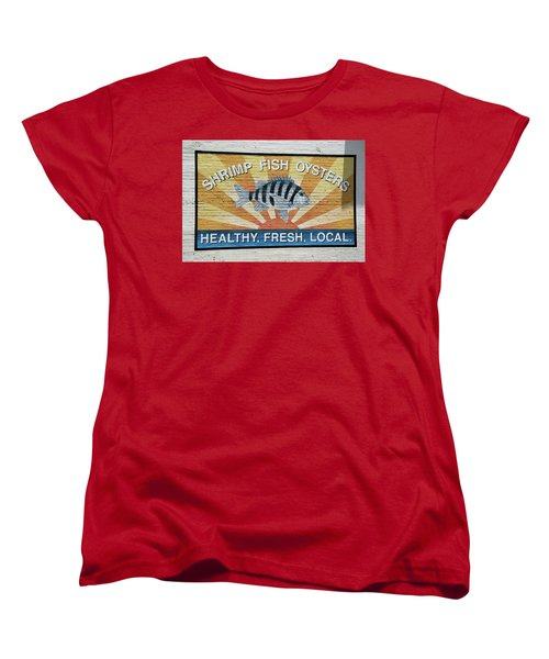 Amen Women's T-Shirt (Standard Cut) by Ed Waldrop