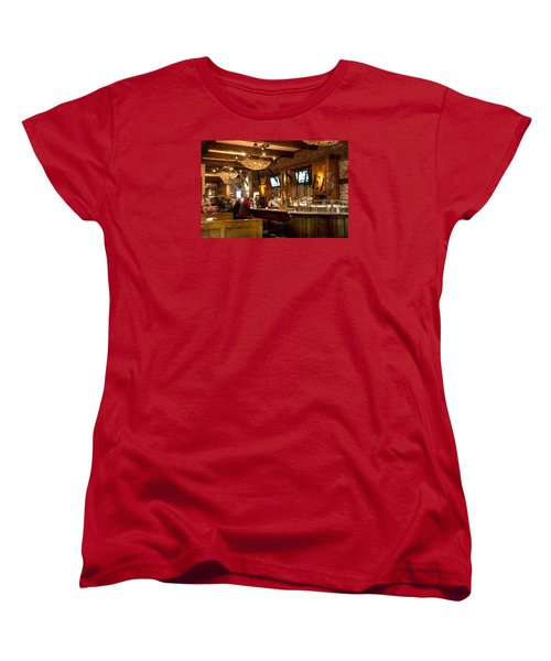 Amen Street Women's T-Shirt (Standard Cut) by Allen Carroll