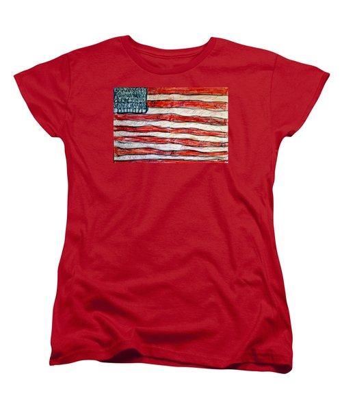 American Social Women's T-Shirt (Standard Cut) by Paulo Guimaraes