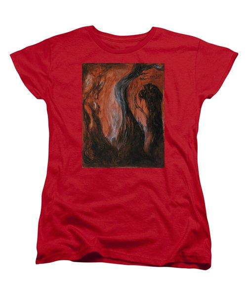 Amongst The Shades Women's T-Shirt (Standard Cut) by Christophe Ennis