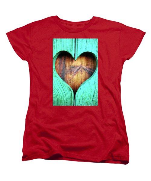 Amor ... Women's T-Shirt (Standard Cut) by Juergen Weiss
