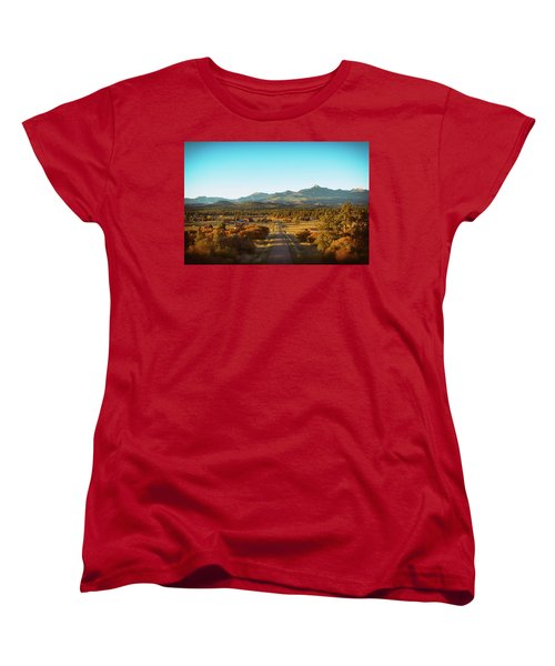 An Autumn Evening In Pagosa Meadows Women's T-Shirt (Standard Cut) by Jason Coward