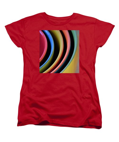 And A Dash Of Color Women's T-Shirt (Standard Cut) by John Glass