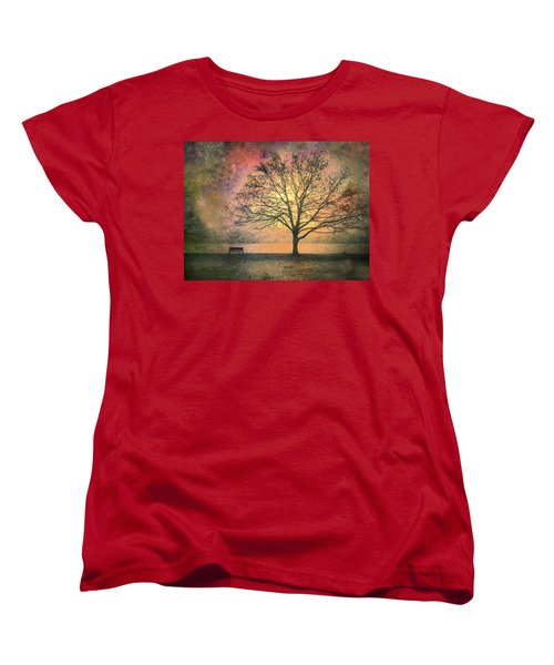 And The Morning Is Perfect In All Her Measured Wrinkles Women's T-Shirt (Standard Cut)