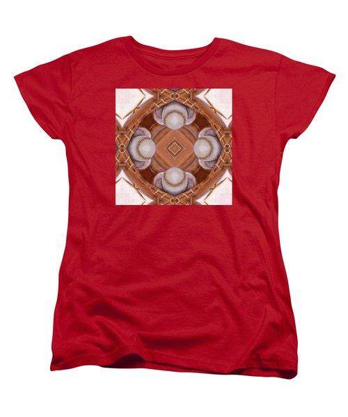 Angels In The Outfield Women's T-Shirt (Standard Cut) by Maria Watt