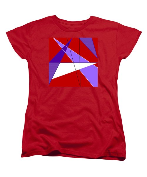 Angles And Triangles Women's T-Shirt (Standard Cut) by Tara Hutton