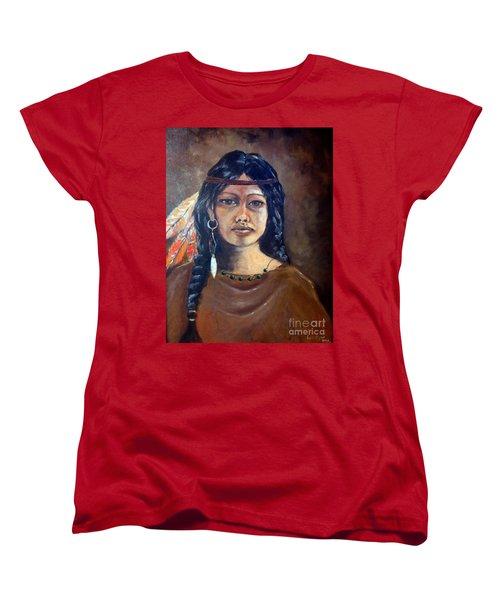 Anne Wolfe Women's T-Shirt (Standard Cut) by Lee Piper