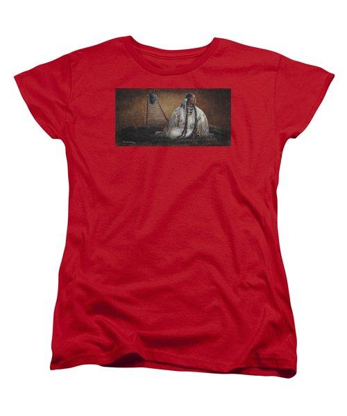 Anticipation Women's T-Shirt (Standard Cut) by Kim Lockman