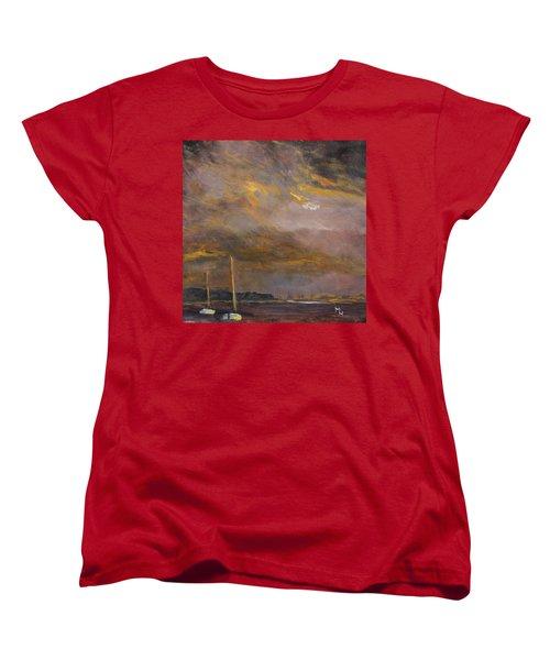 Anticipation Women's T-Shirt (Standard Cut) by Michael Helfen