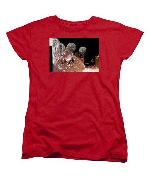 Women's T-Shirt (Standard Cut) featuring the photograph Antique Lanterns by Andrew Fare