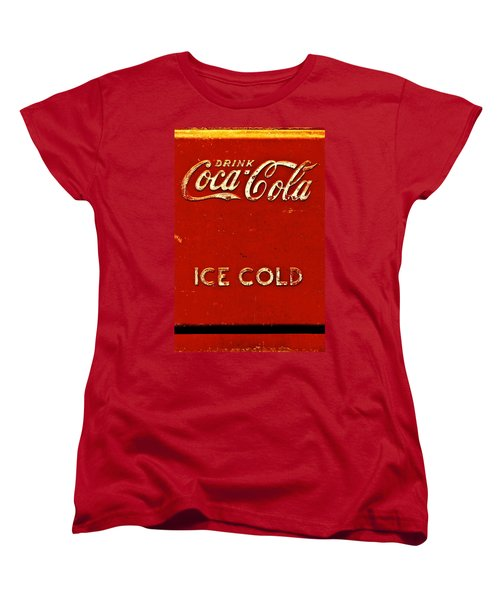 Antique Soda Cooler 6 Women's T-Shirt (Standard Cut) by Stephen Anderson