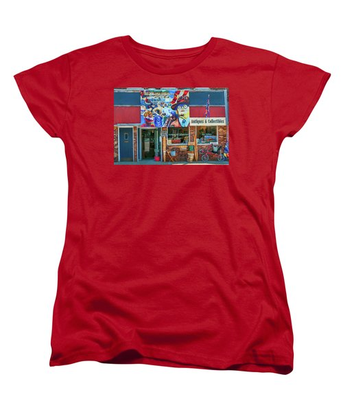 Antiques And Collectibles Women's T-Shirt (Standard Cut) by Trey Foerster