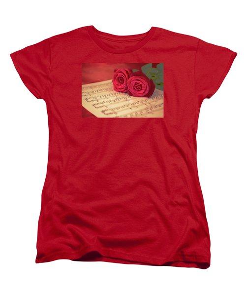 Appassionata Women's T-Shirt (Standard Cut) by Iryna Goodall