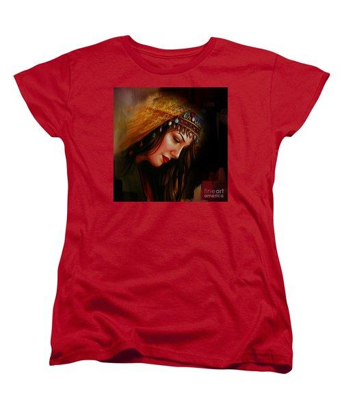 Arabian Woman 043b Women's T-Shirt (Standard Cut) by Gull G