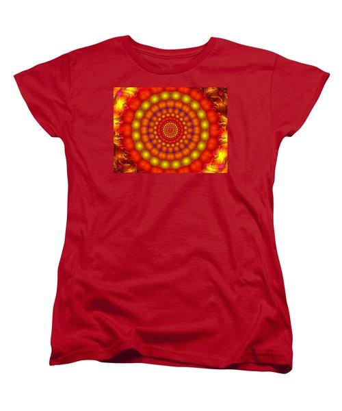 Women's T-Shirt (Standard Cut) featuring the digital art Arcadian Sky by Robert Orinski