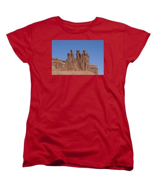 Arches National Park Women's T-Shirt (Standard Cut) by Cynthia Powell