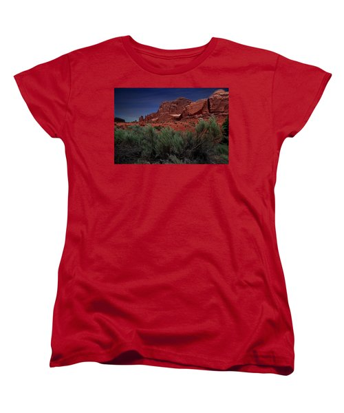 Arches Scene 3 Women's T-Shirt (Standard Cut)