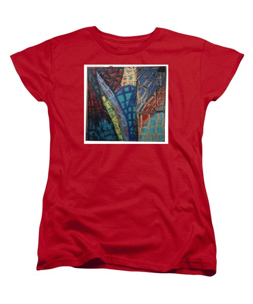 Architectuaral Bent,   Women's T-Shirt (Standard Cut) by Darrell Black