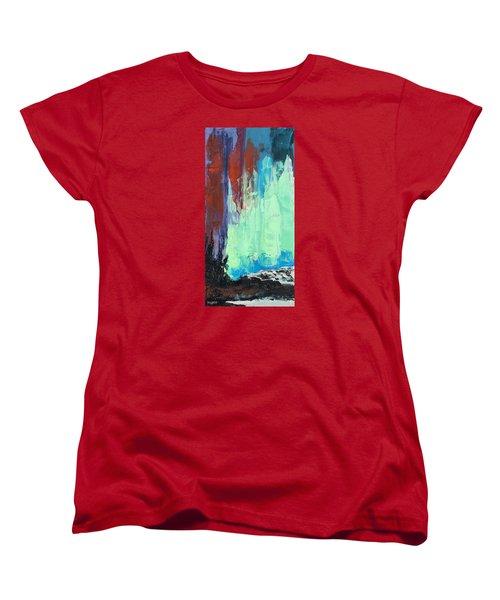 Arise Women's T-Shirt (Standard Cut) by Nathan Rhoads