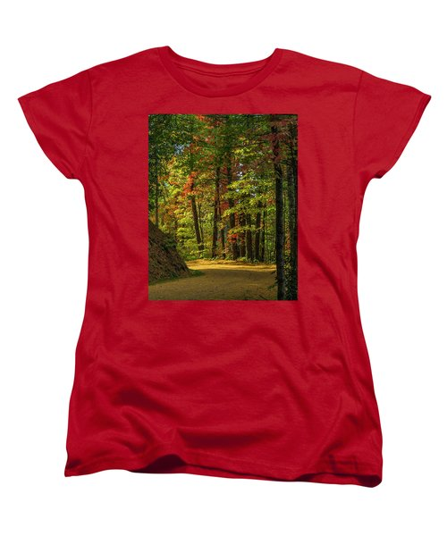 Around The Curve Women's T-Shirt (Standard Cut)
