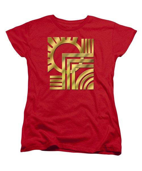 Art Deco 21 Transparent Women's T-Shirt (Standard Cut) by Chuck Staley