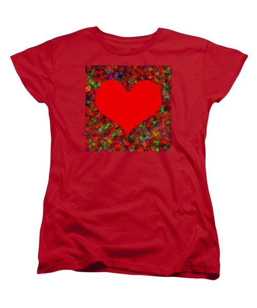 Art Of The Heart Women's T-Shirt (Standard Cut) by Anton Kalinichev