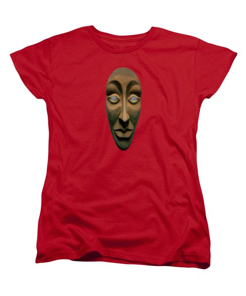 Women's T-Shirt (Standard Cut) featuring the photograph Artificial Intelligence Entity by David Dehner