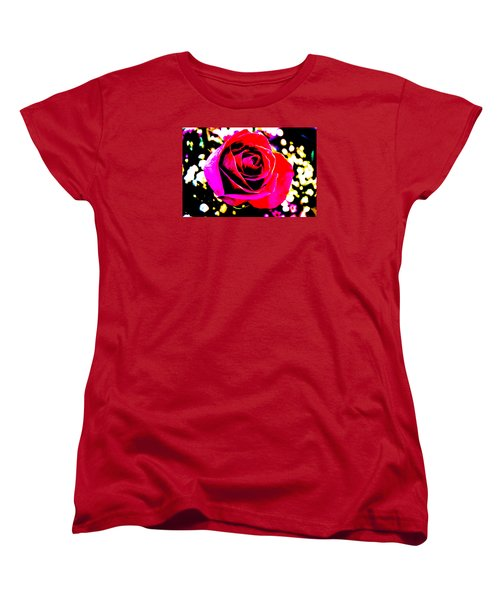 Artistic Rose - 9161 Women's T-Shirt (Standard Cut) by G L Sarti