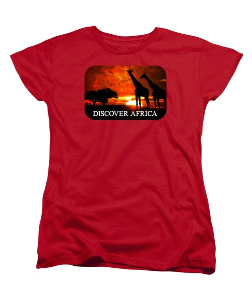 African Safari Women's T-Shirt (Standard Cut) by Richard Farrington