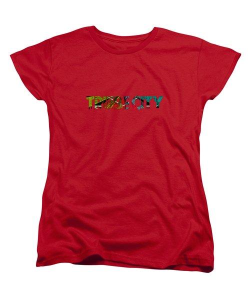 Tribe Lives Women's T-Shirt (Standard Cut) by Chief Hachibi