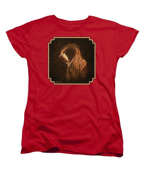 Love's Golden Touch Women's T-Shirt (Standard Cut)