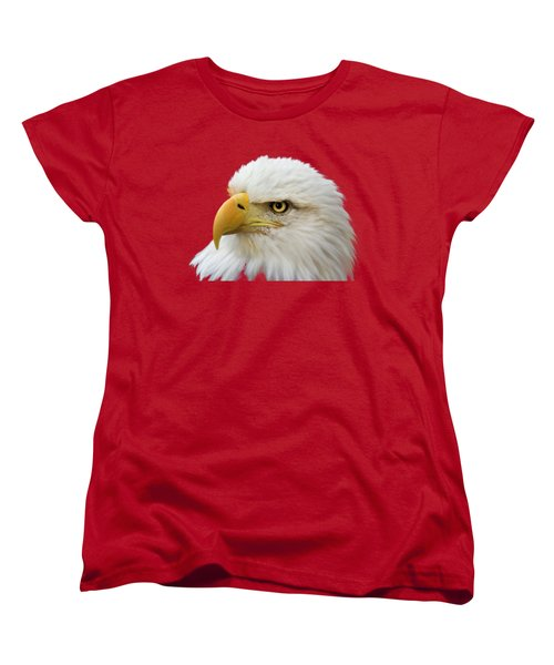 Eagle Eye Women's T-Shirt (Standard Cut) by Shane Bechler