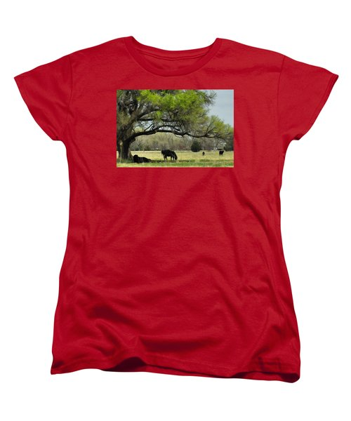 Shady Rest Women's T-Shirt (Standard Cut) by Bill Kesler