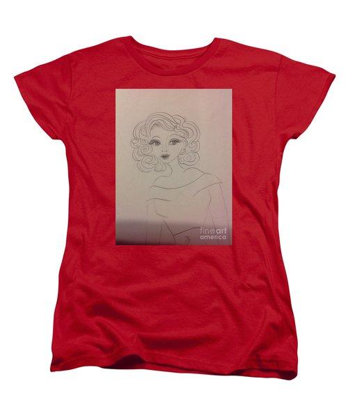 Ashley Barbour Women's T-Shirt (Standard Cut) by Philip Bracco