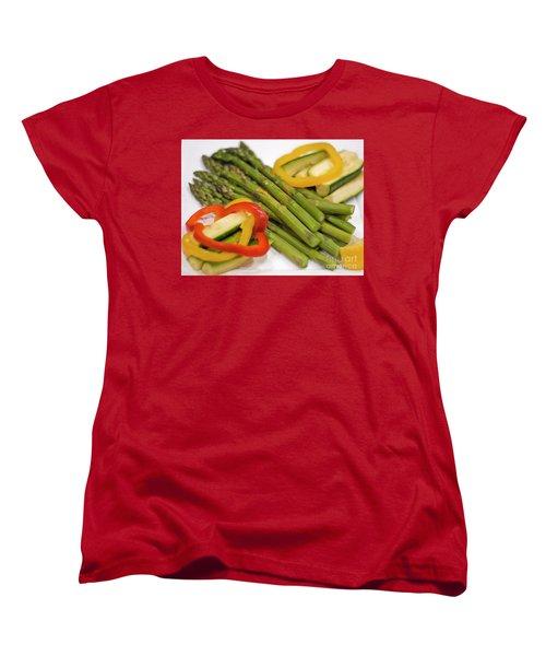 Asparagus Women's T-Shirt (Standard Cut) by Loriannah Hespe