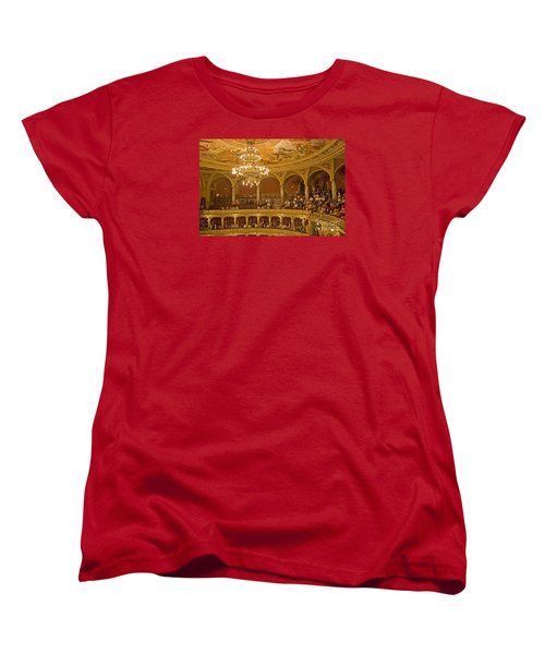 At The Budapest Opera Women's T-Shirt (Standard Cut) by Madeline Ellis