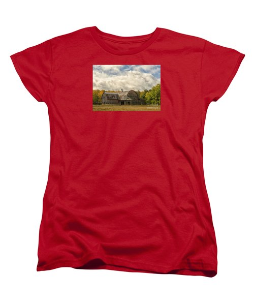 At The Edge Of The Medow Women's T-Shirt (Standard Cut) by JRP Photography
