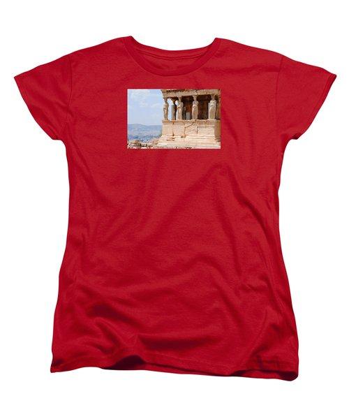 Erecthion Women's T-Shirt (Standard Cut) by Robert Moss