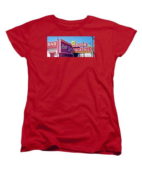 Women's T-Shirt (Standard Cut) featuring the photograph Atomic Liquors by Matthew Bamberg