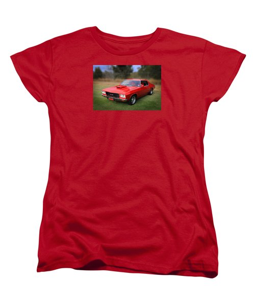 Women's T-Shirt (Standard Cut) featuring the photograph Aussie Muscle by Keith Hawley