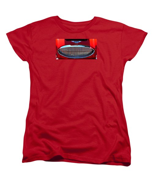 Austin Healey Grille Women's T-Shirt (Standard Cut) by Spyder Webb