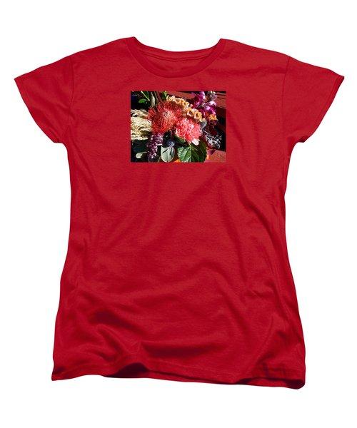 Autumn Bouquet Women's T-Shirt (Standard Cut) by Sharon Duguay