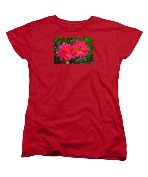 Autumn Colors Maine Women's T-Shirt (Standard Cut) by Richard Ortolano