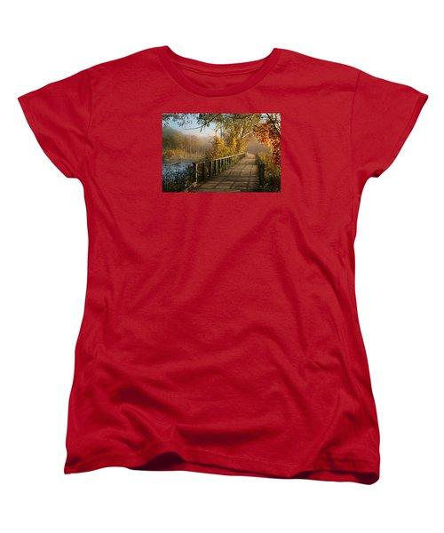 Autumn Emerging Women's T-Shirt (Standard Cut) by Rob Blair