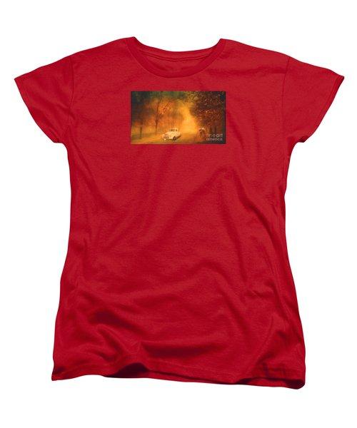 Autumn Evening Women's T-Shirt (Standard Cut) by Jim  Hatch